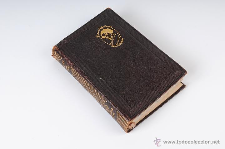 BECQUER OBRAS COMPLETAS EDITOR M.AGUILAR MADRID 1942 (Libros sin clasificar)