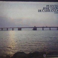 Libros: A COLOR. PROCESO CONSTRUCTIVO PUENTE JOSÉ LEÓN DE CARRANZA. CÁDIZ. AÑO 1969. DRAGADOS Y CONSTRUCC. Lote 54980193