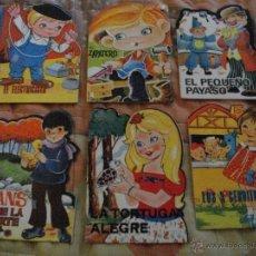 Libros: PRECIOSO LOTE DE 6 CUENTOS TROQUELADOS AÑOS 70/80 VER FOTO QUE NO TE FALTEN EN TU COLECCION. Lote 55027602