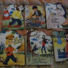 Libros: PRECIOSO LOTE DE 6 CUENTOS TROQUELADOS AÑOS 70/80 VER FOTO QUE NO TE FALTEN EN TU COLECCION. Lote 55046763