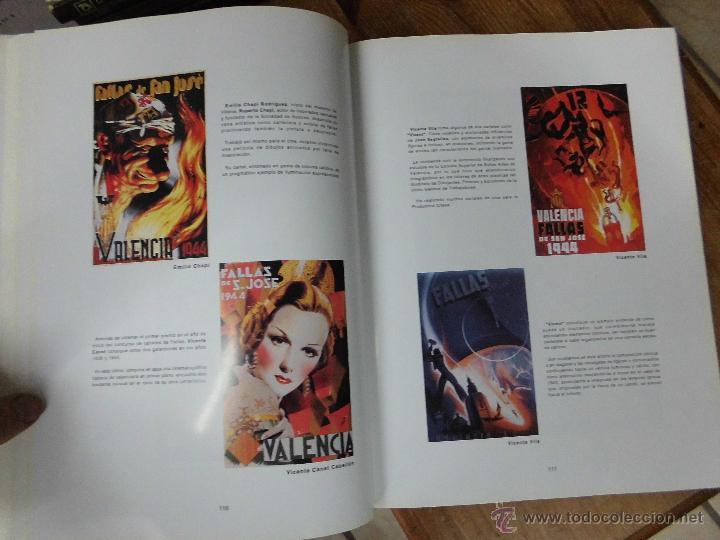 Libros: Libro Carteles y cartelistas valencianos Rafael Contreras Juesas 2003 imprenta romeu Art-502-bis - Foto 2 - 55050024