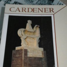Libros: CARDENER-REVISTA D'INVESTIGACIÓ - N. 3 ANY 1986. Lote 55153163