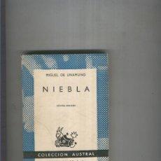 Libros: NIEBLA. Lote 55517583