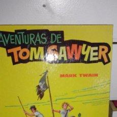 Libros: AVENTURAS DE TOM SAWYER - MARK TWAIN - CON ILUSTRACIONES -ED. EVA 1963. Lote 55686840