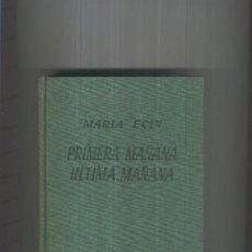 Libros: GIGANTE: PRIMERA MAANA ULTIMA MAANA. Lote 55892839