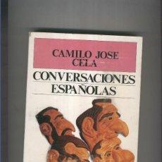 Libros: CONVERSACIONES ESPAOLAS. Lote 56227436
