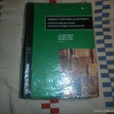 Libros: TABACO E HISTORIA ECONÓMICA ESTUDIOS SOBRE FISCALIDAD, CONSUMO Y EMPRESA SIGLOS XVII-XX - ALTADIS. Lote 133819114