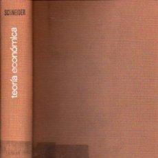 Libros: TEORA ECONMICA. IV. CAPTULOS ESCOGIDOS DE LA HISTORIA DE LA TEORA ECONMICA. VOL. I. ETAPAS DEL DESAR. Lote 56679033
