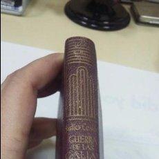 Libros: CRISOL Nº 109 COMENTARIOS DE LA GUERRA DE LAS GALIAS- CAYO JULIO CESAR MADRID 1945. Lote 57045207