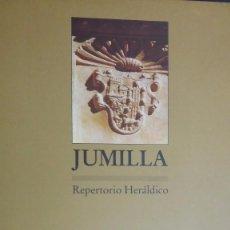 Libros: JUMILLA. REPERTORIO HERÁDILCO.ANTONIO GONZÁLEZ BLANCO ( COORDINADOR).ISBN: 8475642489. HERÁLDICA. Lote 57120522