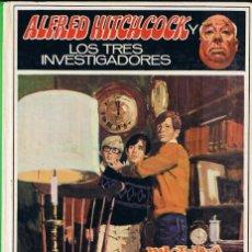 Livres: MISTERIO DEL RELOJ CHILLÓN - ALFRED HITCHCOCK - Nº 9. Lote 57182892