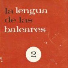 Bücher - La lengua de las Baleares 2 - Francesc de B. Moll - 57314702