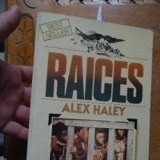 Libros: LIBRO - BEST SELLER RAICES AXEL HALEY , ULTRAMAR . Lote 57524318
