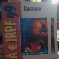 Libros: IVA E IRPF 99. Lote 57773156
