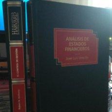Libros: BIBLIOTECA HARVARD DE GESTION EMPRESARIAL. 2 VOL.. Lote 57773285