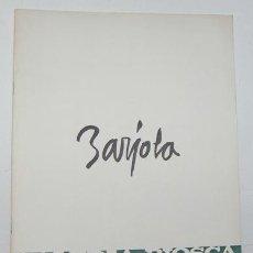 Libros: JUAN BARJOLA - JUAN BARJOLA / SANTIAGO AMÓN (TEXTOS). Lote 43619274