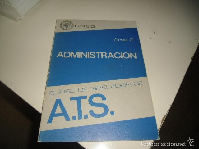 Libros: BAL-50 LOTE 4 LIBROS CURSO DE NIVELACION DE A.T.S UNED LOS DE FOTO - Foto 2 - 57816376
