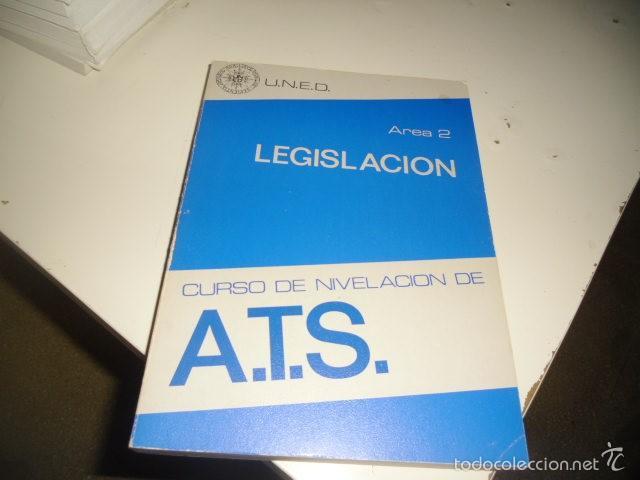 Libros: BAL-50 LOTE 4 LIBROS CURSO DE NIVELACION DE A.T.S UNED LOS DE FOTO - Foto 4 - 57816376