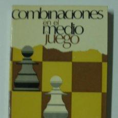 Libros: COMBINACIONES EN EL MEDIO JUEGO / P.A. ROMANOWSKY. Lote 57878982