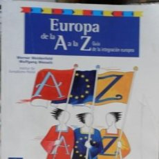 Bücher - Europa de la A a la Z, Guía de la integración europea - 57996662