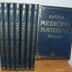 Libros: MEDICINA NATURAL. COMPLETA 8 VOL., TOMO I LAS HIERBAS CURATIVAS. LA CURACIÓN CON PLANTAS Y ARBUSTOS.. Lote 43393556