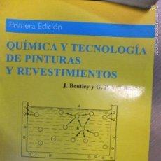 Libros: QUIMICA Y TECNOLOGIAS DE PINTURA Y REVESTIMIENTOS-A.MADRID EDICCIONES-1999-292PG. Lote 58249713
