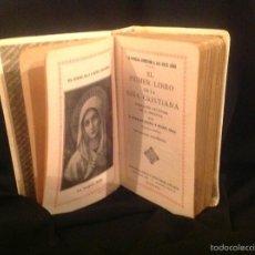 Libros: EL PRIMER LIBRO DE LA NIÑA CRISTIANA POR SERRA Y BUIXÓ AÑO 1946. Lote 58281489
