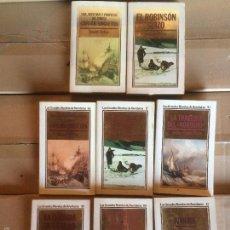Libros: ANTIGUO LIBRO / NOVELA VARIOS EJEMPLARES COLECCIÓN LAS GRANDES NOVELAS DE AVENTURAS, AÑOS 80-90. Lote 58294420