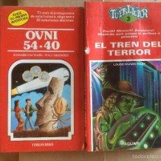 Libros: ANTIGUO 2 LIBRO OVNI 54-40 ESCRITO EDWAR PACKARD Y EL TREN DEL TERROR POR LOUISE MUNRO FOLEY. Lote 58297914