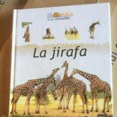 Libros: ANTIGUO LIBRO INFANTIL LA JIRAFA, COLECCIÓN EL ARCA DE LOS ANIMALES EDICIONES DEL PRADO AÑOS 80 . Lote 58298021