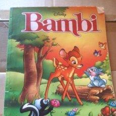 Libros: ANTIGUO LIBRO DE BAMBY WALT DISNEY AÑO 2006 . Lote 58301266