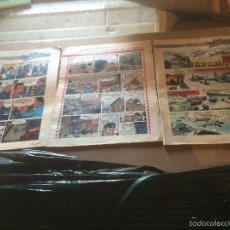 Libros: ANTIGUOS COMIC / COMICS ACROBATAS DEL ESPACIO Y LOS CORSARIOS DE LA NIEBLA AÑOS 60-70. Lote 58301630