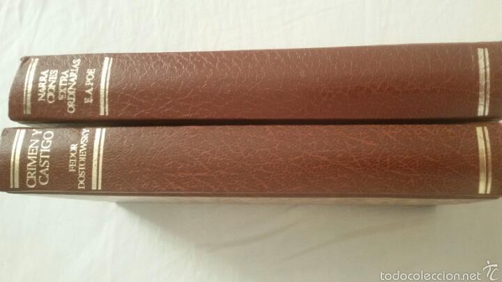 Libros: Lote de 2 libros crimen y castigo y narraciones extraordinarias - Foto 2 - 58437662