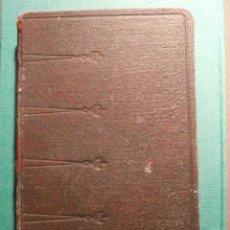Libros: MISAL ROMANO DE LAS FIESTAS - JOSÉ VILLAMALA - 1943 - P. PASCUAL RAMBLA - ESTAMPITAS DENTRO, 630 PAG. Lote 58453844