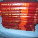 Libros: CONOCER ESPAÑA DE SALVAT 1986 ENCICLOPEDIA DE 12 TOMOS. Lote 58566618