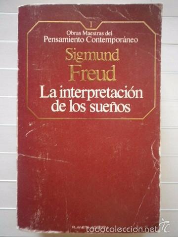 LA INTERPRETACION DE LOS SUEÑOS. SIGMUND FREUD. 2 TOMOS (Libros Antiguos,  Raros