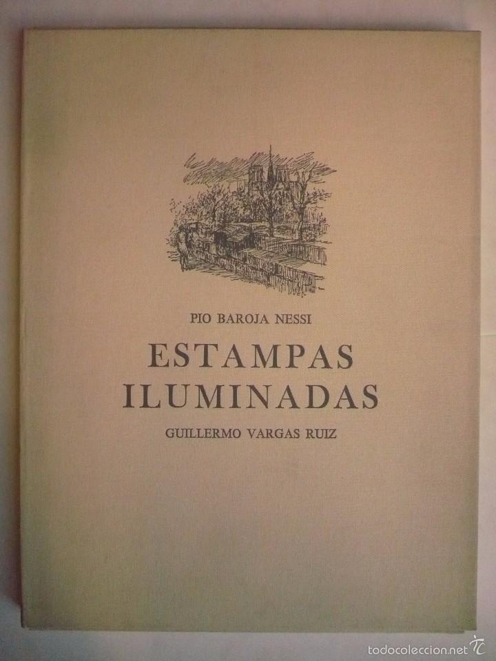 ESTAMPAS ILUMINADAS. - BAROJA NESSI, PÍO; VARGAS RUIZ, GUILLERMO. (Libros sin clasificar)