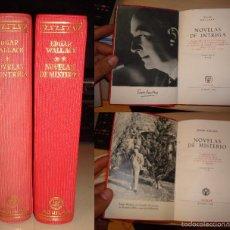 Libros: EDGAR WALLACE. NOVELAS DE MISTERIO Y DE INTRIGA. AGUILAR.. Lote 59958259