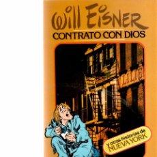 Libros: WILL EISNER - CONTRATO CON DIOS - TOUTAIN. Lote 60506035