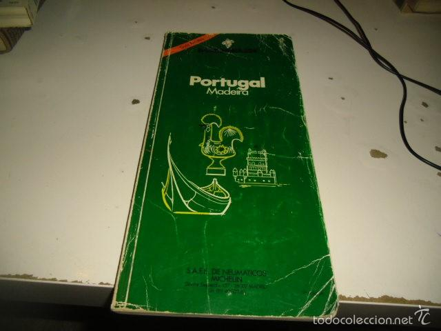 Libros: G-ONCAD90 - PORTUGAL - GUIA MICHELIN 1990 - Foto 1 - 60621859