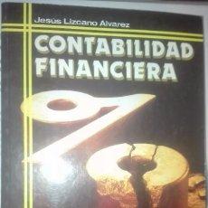 Libros: CONTABILIDAD FINANCIERA JESUS LIZCANO ED. EVEREST 1998. Lote 61091743
