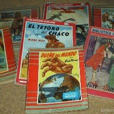 Libros: COLECCION MOLINO LOTE DE 7 NOVELAS, FREIXAS - VER TÍTULOS FOTOS Y DETALLES. Lote 61267879