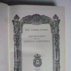 Libros: DICCIONARIO DE LA LENGUA ESPAÑOLA. DECIMONOVENA EDICIÓN.. Lote 61321067