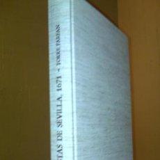 Libros: FIESTAS DE SEVILLA, 1671 - TORRE FARFAN FACSÍMIL. Lote 61868084