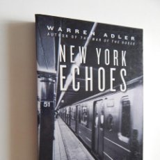Libros: NEW YORK ECHOES. SHORT STORIES - WARREN ADLER. Lote 61869496