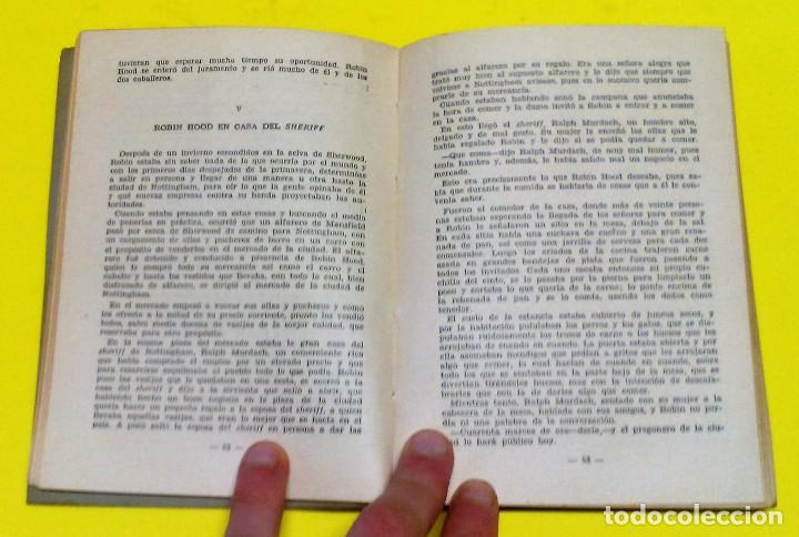 Libros: RARO Y ANTIGUO LIBRO AVENTURAS CLÁSICO: ROBIN HOOD, E MAC GRAGH. EDITADO POR MOLINO, EN TORNO A 1952 - Foto 2 - 61984604