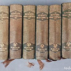 Libros: JACINTO BENAVENTE, 8 TOMOS DE SUS OBRAS COMPLETAS AGUILAR. Lote 62586000