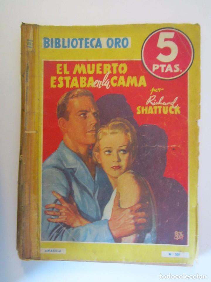 LIBRO BIBLIOTECA DE ORO EL MUERTO ESTABA EN LA CAMA 1946 (Libros sin clasificar)