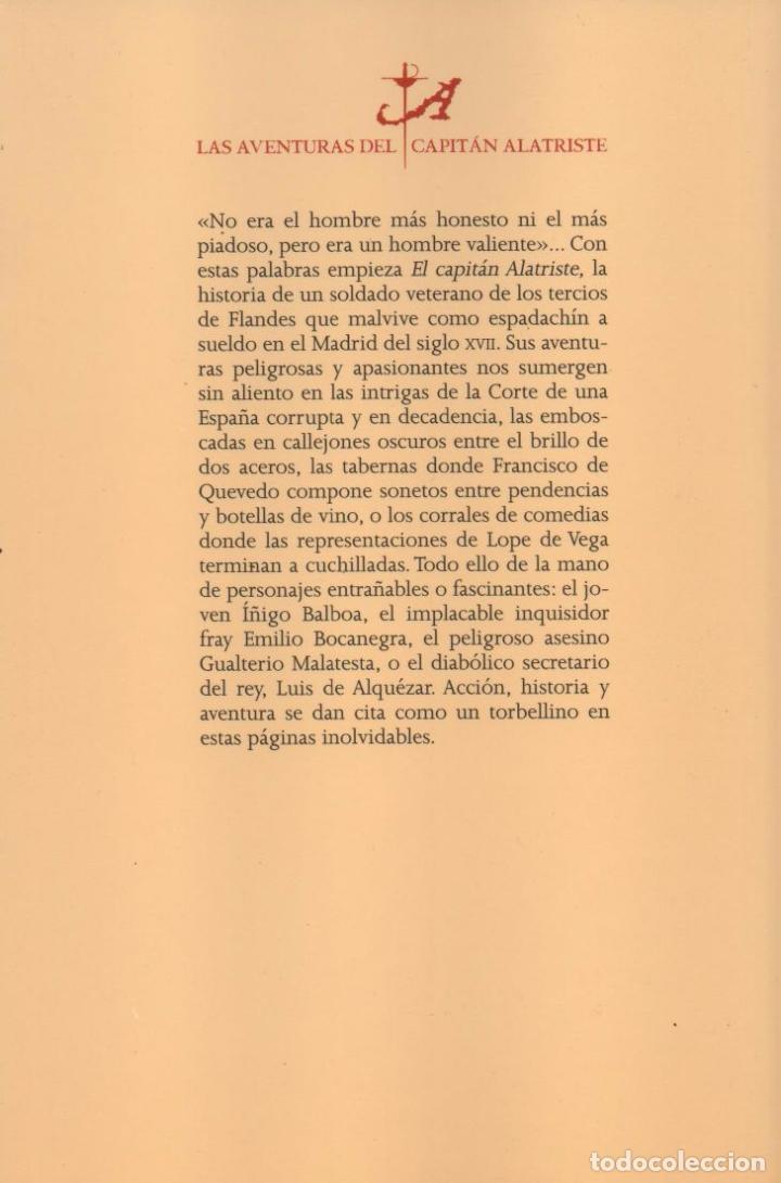 Libros: EL CAPITAN ALATRISTE de ARTURO Y CARLOTA PEREZ-REVERTE - PENGUIN RANDOM HOUSE, 2015 - Foto 2 - 63937119