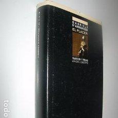 Libros: PLACER, EL---------GABRIELE RAPAGNETTA, G D'ANNUNZIO. Lote 64051435